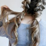 11 Easy And Cute Hairstyles For Curly Hair Southern Living Casual Updos For Curly Hair