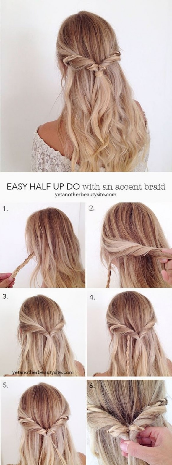 11 Easy Updos For Long Hair And How To Do Them Style Easily Hairstyles For Long Hair Step By Step
