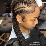 11 French Braid Hairstyles With Weave #Blackhairstyles 2 Long French Braids