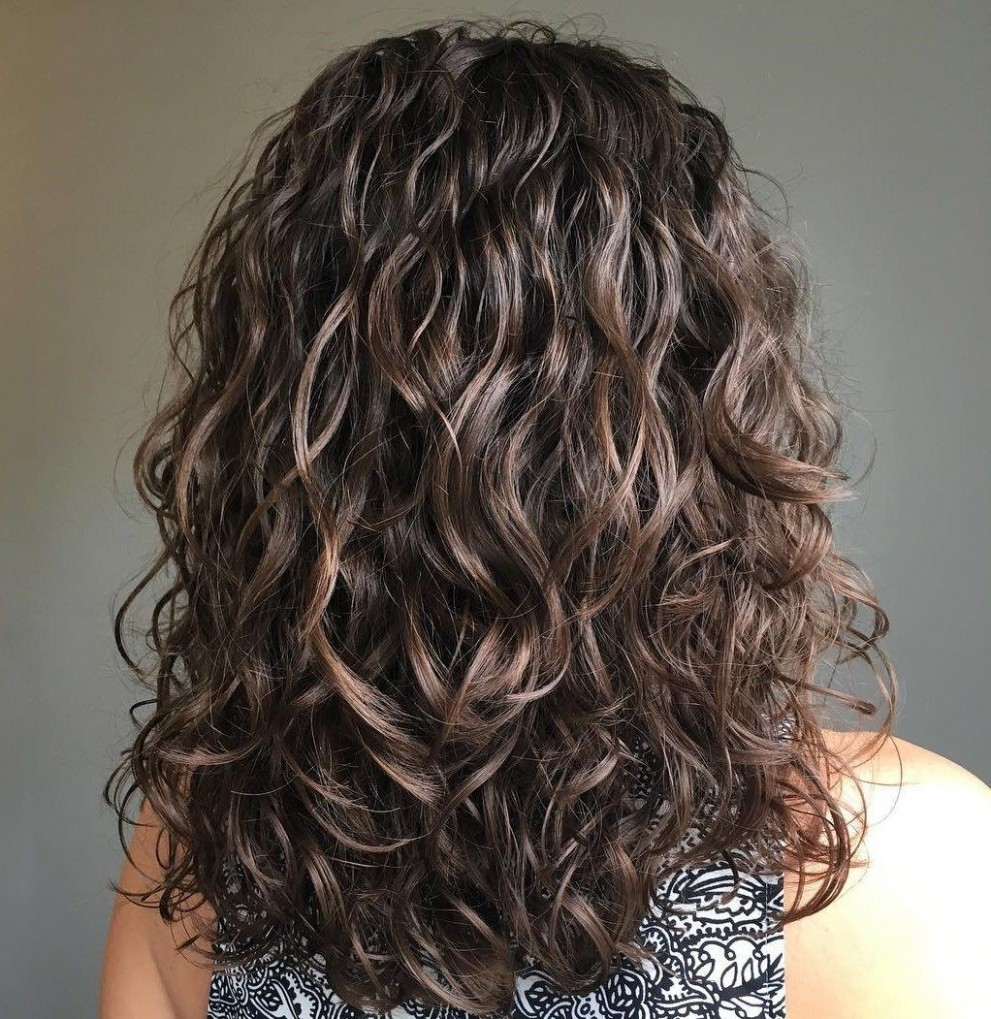 11 Gorgeous Perms Looks: Say Hello To Your Future Curls! Permed Wave Perm Long Hair