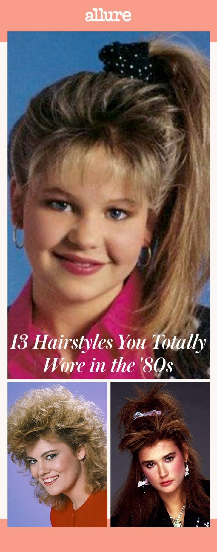 11 Hairstyles You Totally Wore In The '11s Allure 80S Curly Hairstyles
