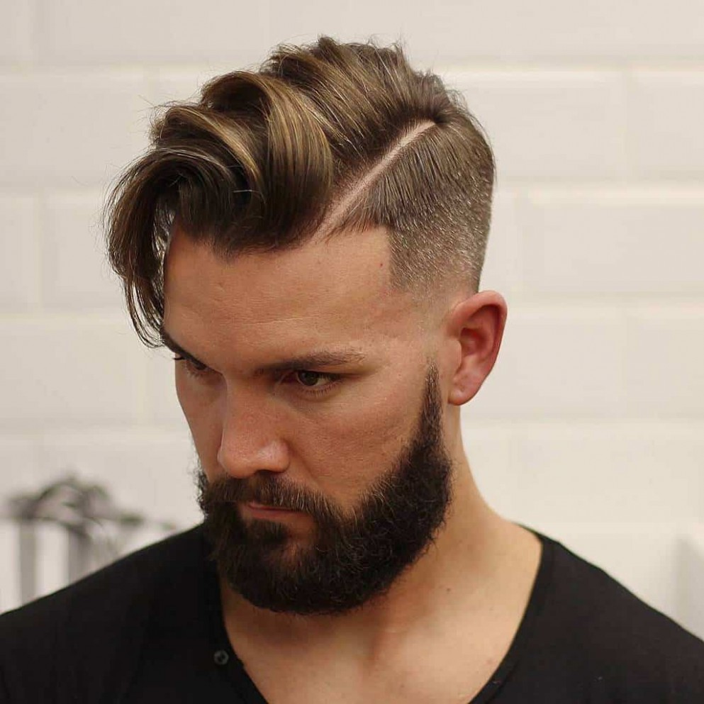 11 Handsome Taper Fade Comb Over Hairstyles [December