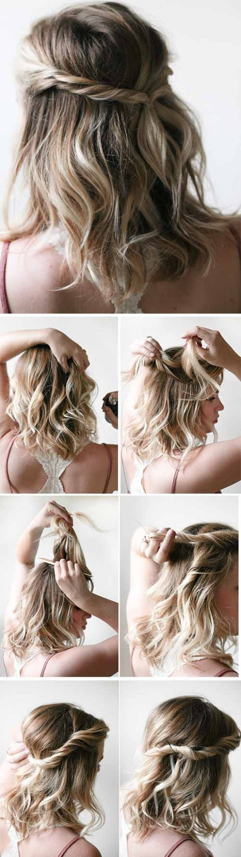 11 Incredible DIY Short Hairstyles A Step By Step Guide Simple Hairstyles For Short Hair