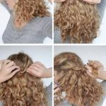 11 Incredibly Stunning DIY Updos For Curly Hair Casual Updos For Curly Hair