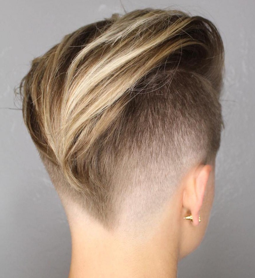 11 Inspiring Pixie Undercut Hairstyles Long On Top Short On Sides Womens Haircut