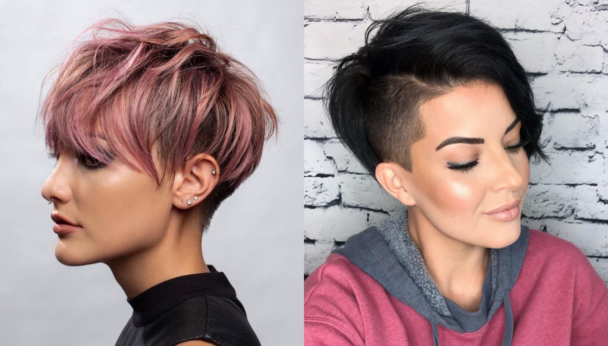 11 Irresistible Short & Long Pixie Cuts StylesRant Long Hair To Pixie Cut