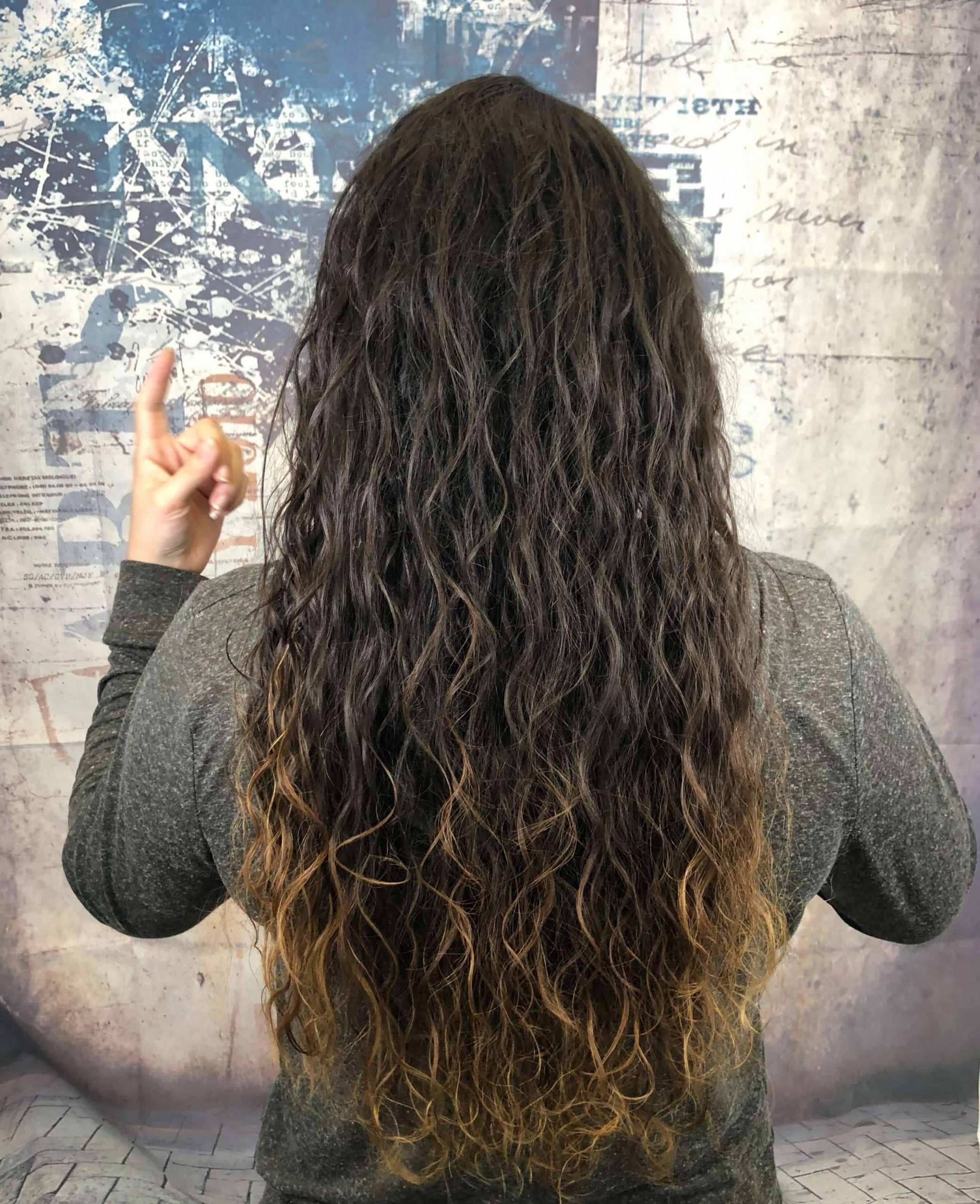 11 Modern Day Perms In 11 [With Before & After Pictures] Wave Perm Long Hair