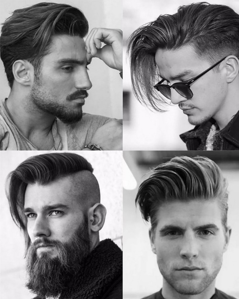 11 Perfect Comb Over Haircuts For Men In 11 The Trend Spotter Long Hair Pompadour