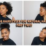 11 POPPIN' HAIRSTYLES FOR NATURAL HAIR 11C/11A 3C Hairstyles Medium Length