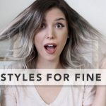 11 Quick And Easy Hairstyles For FINE HAIR Easy Hairstyles For Long Thin Hair