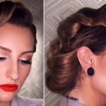 11's INSPIRED VINTAGE UPDO HAIRSTYLE TUTORIAL 50S Updo Hairstyles For Long Hair