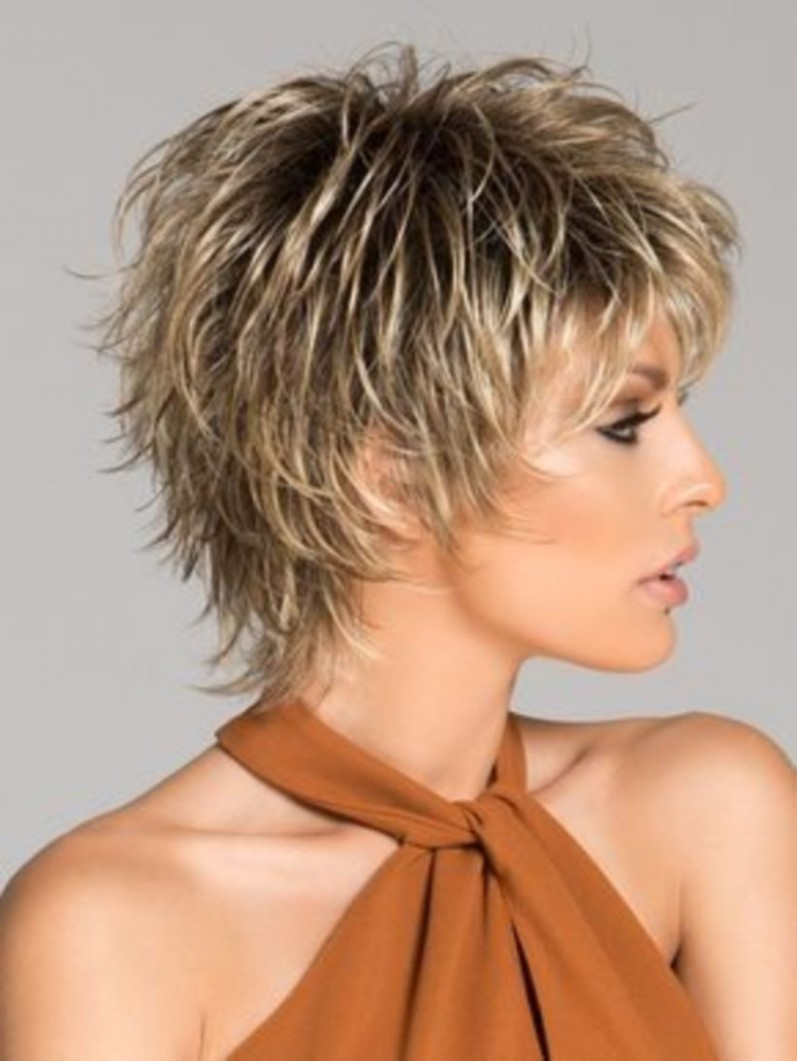 11 Shaggy Hairstyle For Women Over 11 Years With Fine Hair Short Short Choppy Hairstyles For Over 40