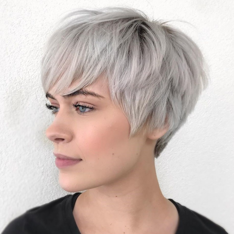 11 Short Hairstyles For Thick Hair (Trendy In 11 11) ⋆ Palau Short Hairstyles For Thick Hair And Oval Face
