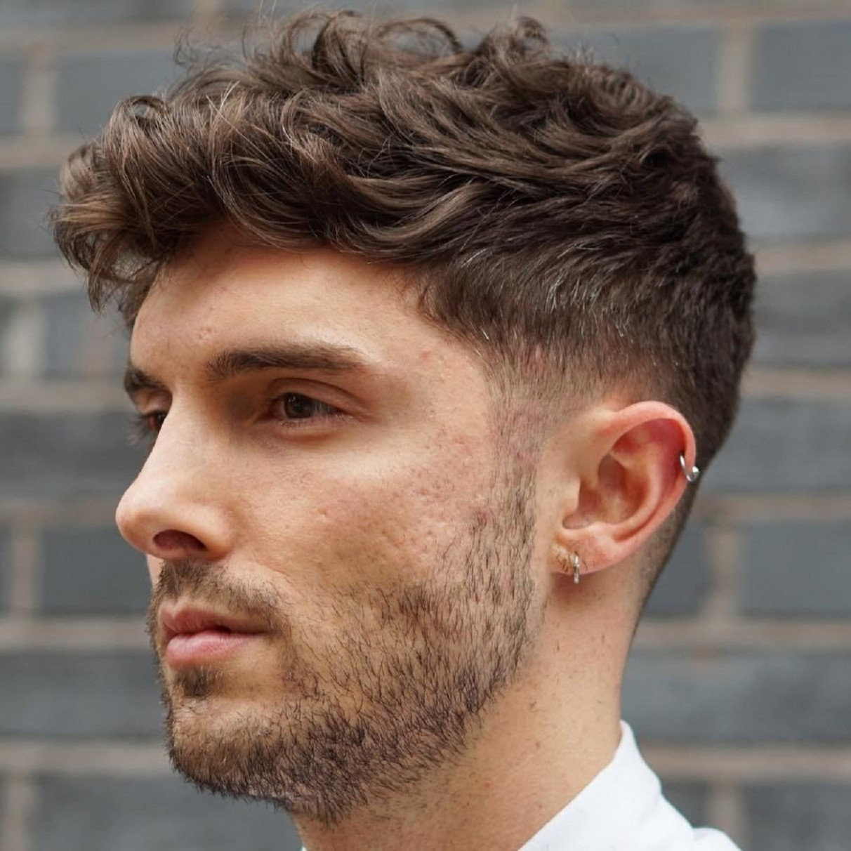 11 Statement Hairstyles For Men With Thick Hair Short Haircuts For Men With Thick Hair