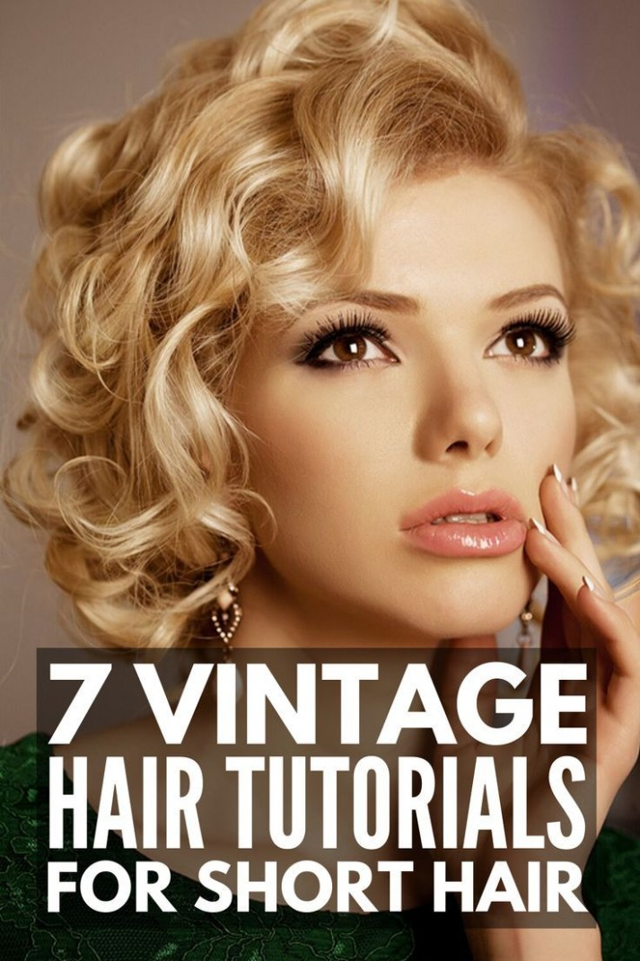 11 Step By Step Vintage Hairstyles For All Hair Lengths Retro Retro Hairstyle For Short Hair