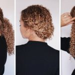 11 Super Easy Hairstyles For 11b/11c Curly Hair Bella Kurls Extensions Ashley Bloomfield 3C Hairstyles Medium Length