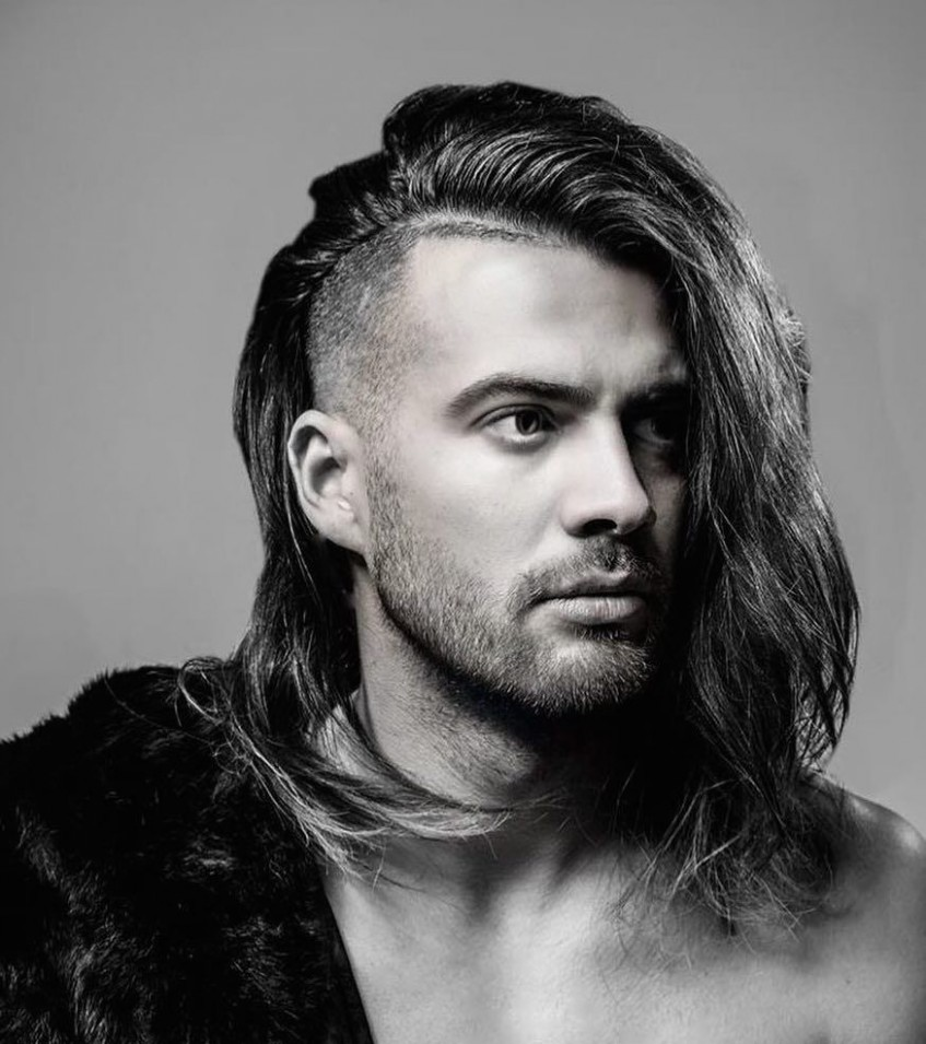 11 (ultimate) Super Trending Long Hairstyles For Men Long Hair Men Long Hair Shaved Sides