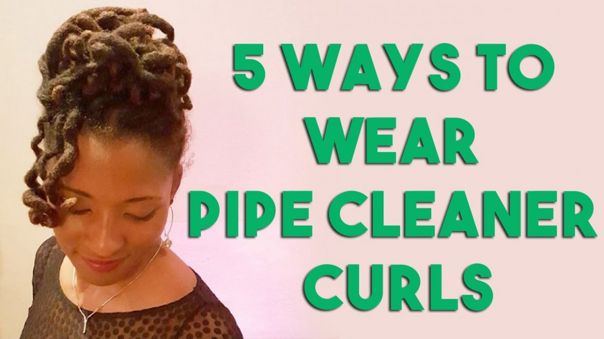 11 Ways to Wear Pipe Cleaner Curls on Locs