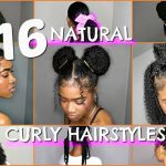 12 BEST BACK TO SCHOOL NATURAL/CURLY HAIRSTYLES (BUNS, PROTECTIVE, PUFFS, RUBBERBAND & MORE STYLES) Hairstyles For Curly Hair For School