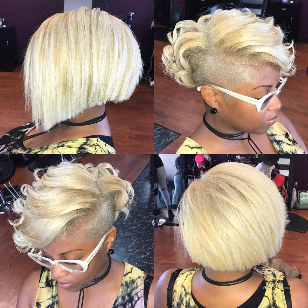 12 Best Bob Hairstyles For Black Women To Try In 12 Hair Adviser Shaved Side Bob Black Hairstyles