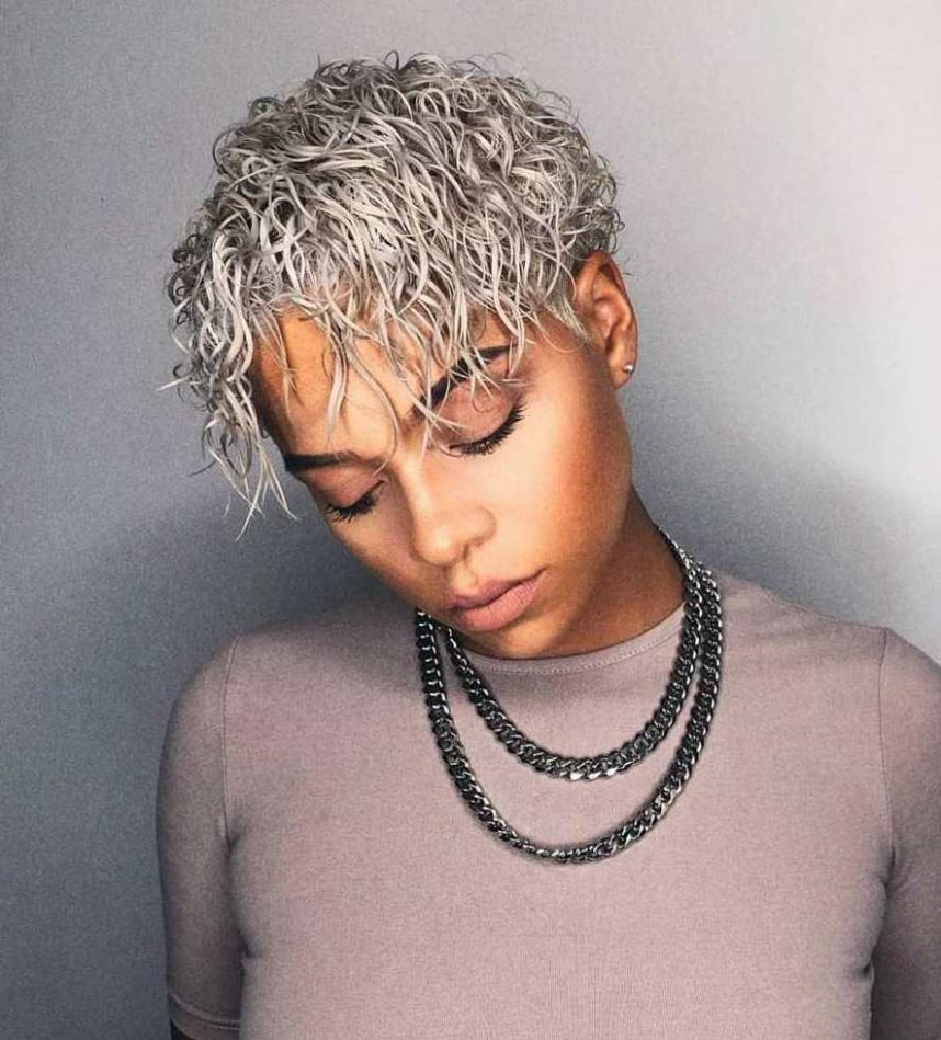 12 Best Haircuts And Hairstyles For Short Curly Hair In 12 Short Curly Hair Female