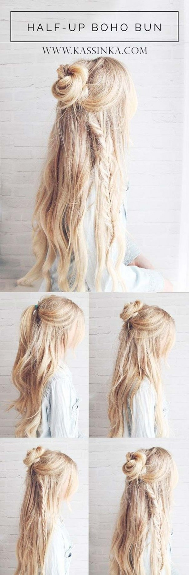 12 Best Hairstyles for Long Hair - DIY Projects for Teens