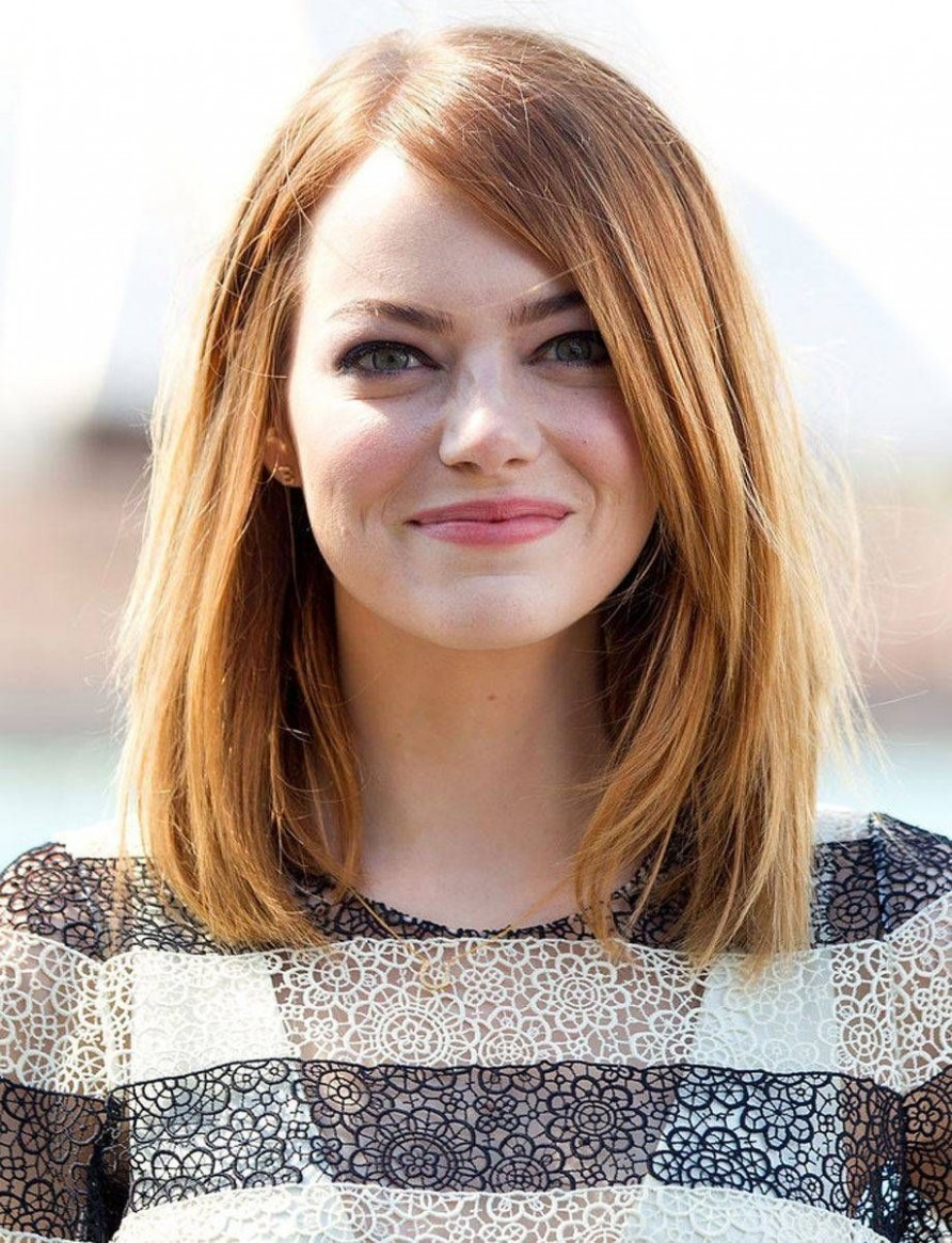 12 Best Hairstyles For Round Faces Folder Haircut For Big Face