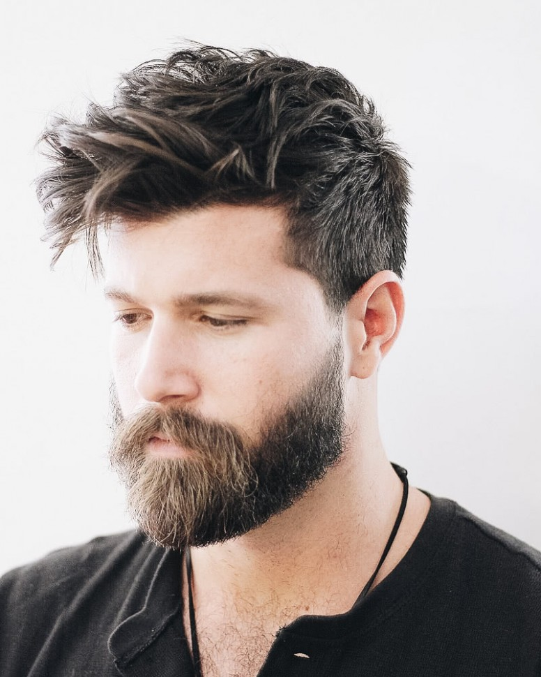 12 Best Medium Length Haircuts For Men And How To Style Them Medium Length Hair Cut