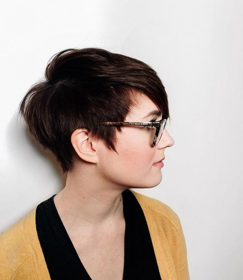 12 Best Short Hair Pixie Cut Hairstyle With Glasses Ideas That Pixie Cut With Glasses