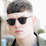 12 Best Short Haircuts: Men's Short Hairstyles Guide With Photos Mens Short Fringe Haircut