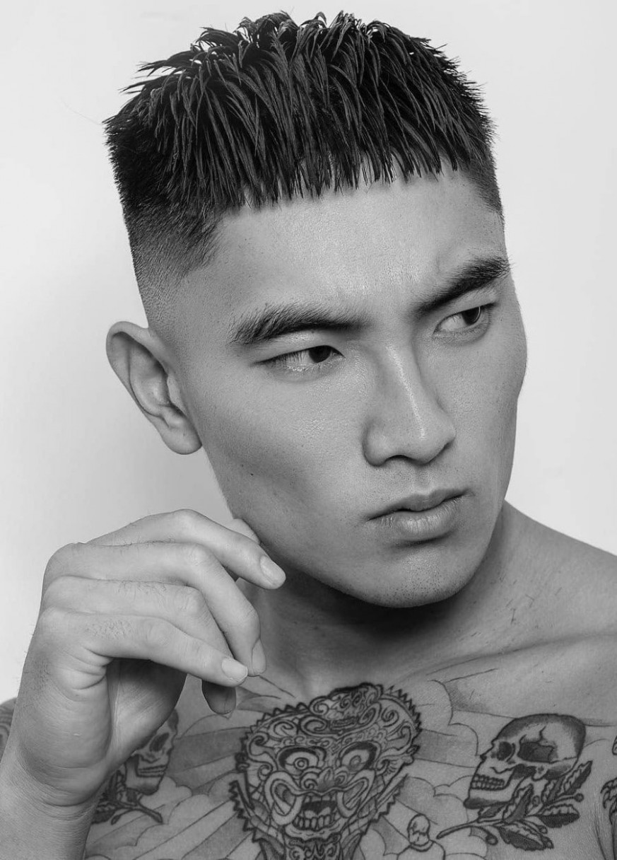 12 Best Short Hairstyles & Haircuts For Men Man Of Many Mens Short Fringe Haircut