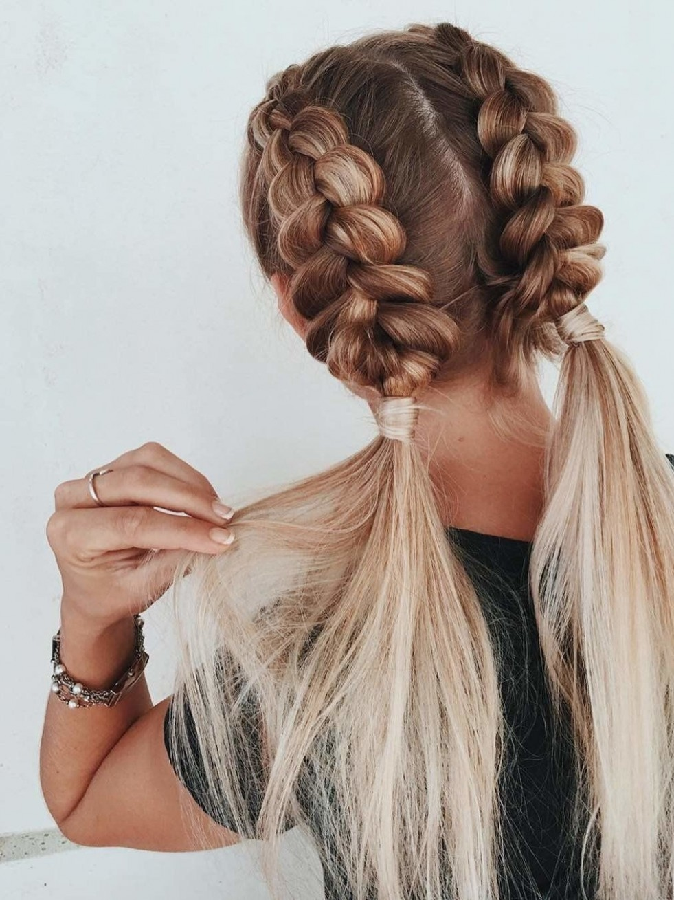 12 Braided Hairstyles That People Are Loving On Pinterest Cool Easy Braided Hairstyles For Long Hair