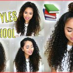 12 BUILDABLE BACK TO SCHOOL HAIRSTYLES FOR NATURALLY CURLY HAIR Lana Summer Hairstyles For Curly Hair For School