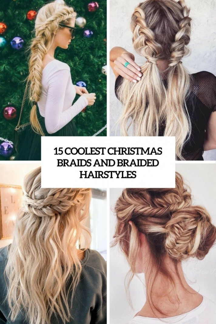 12 Coolest Christmas Braids And Braided Hairstyles Styleoholic Cool Braids For Long Hair