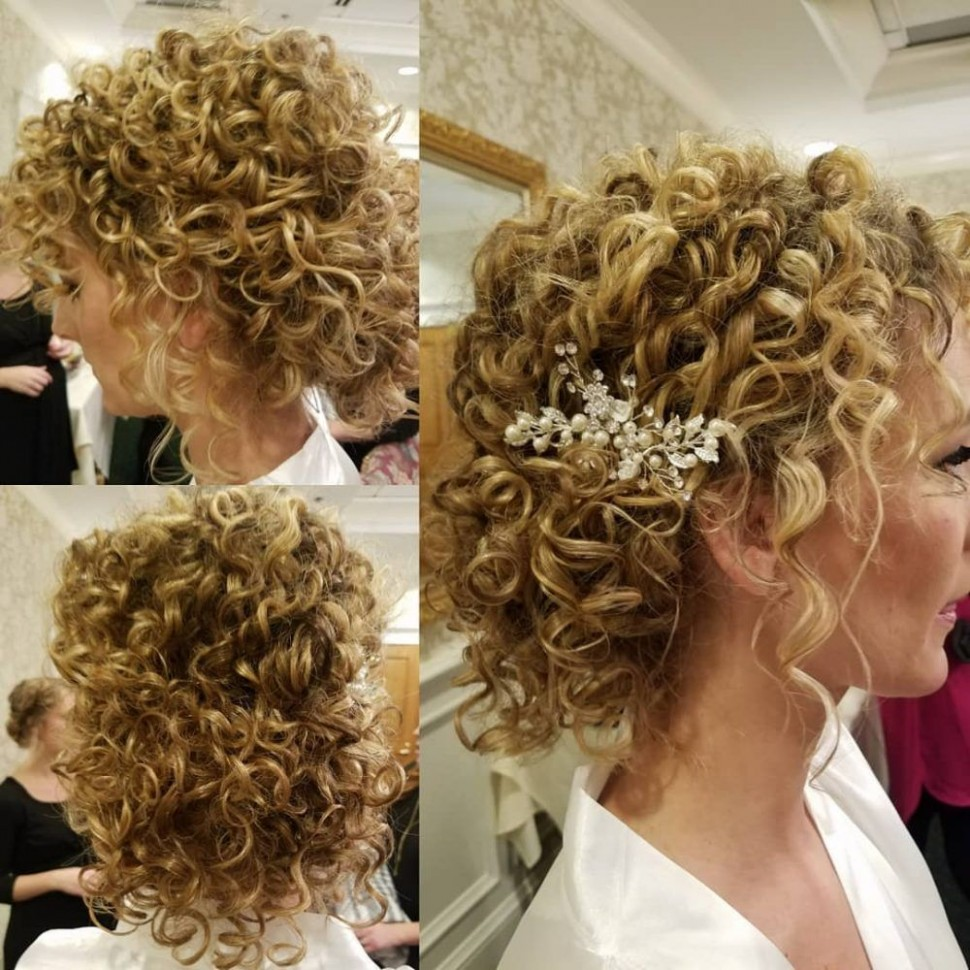 12 Curly Updos For Curly Hair (See These Cute Ideas For 12 Cute Curly Updos