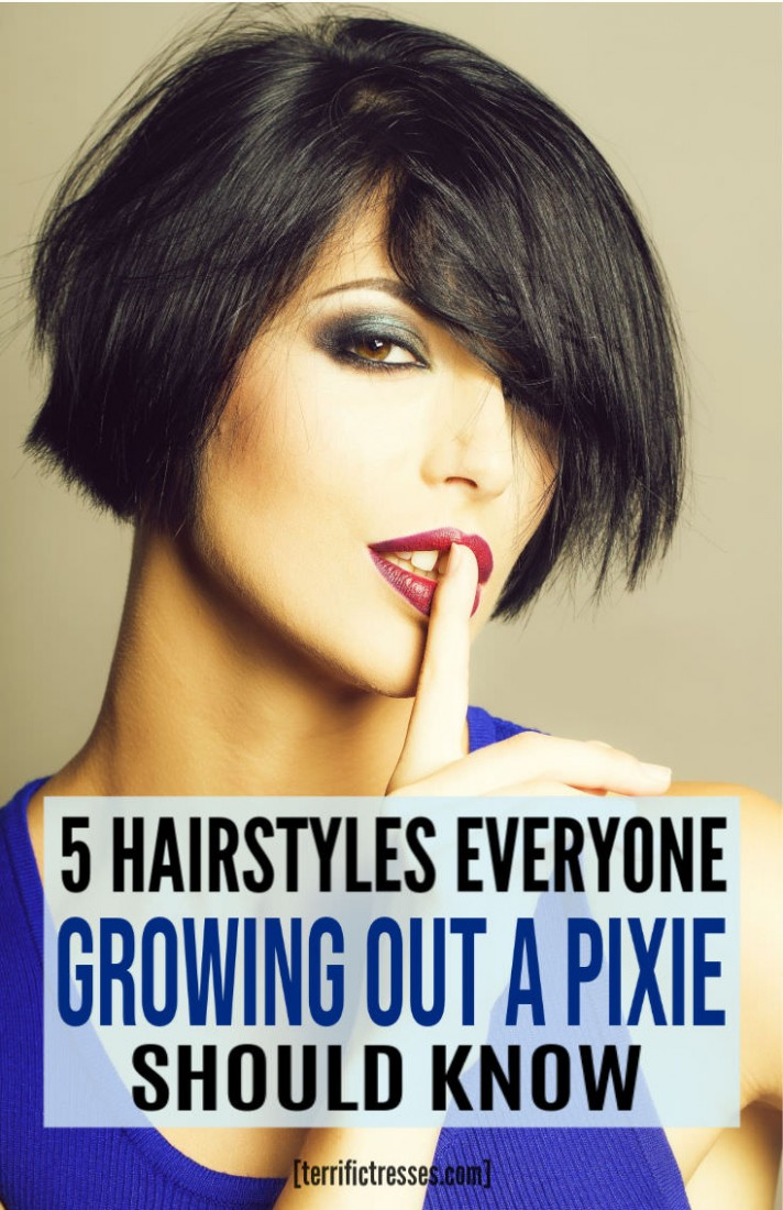 12 Cute Hairstyles For When Growing Out A Pixie Cut