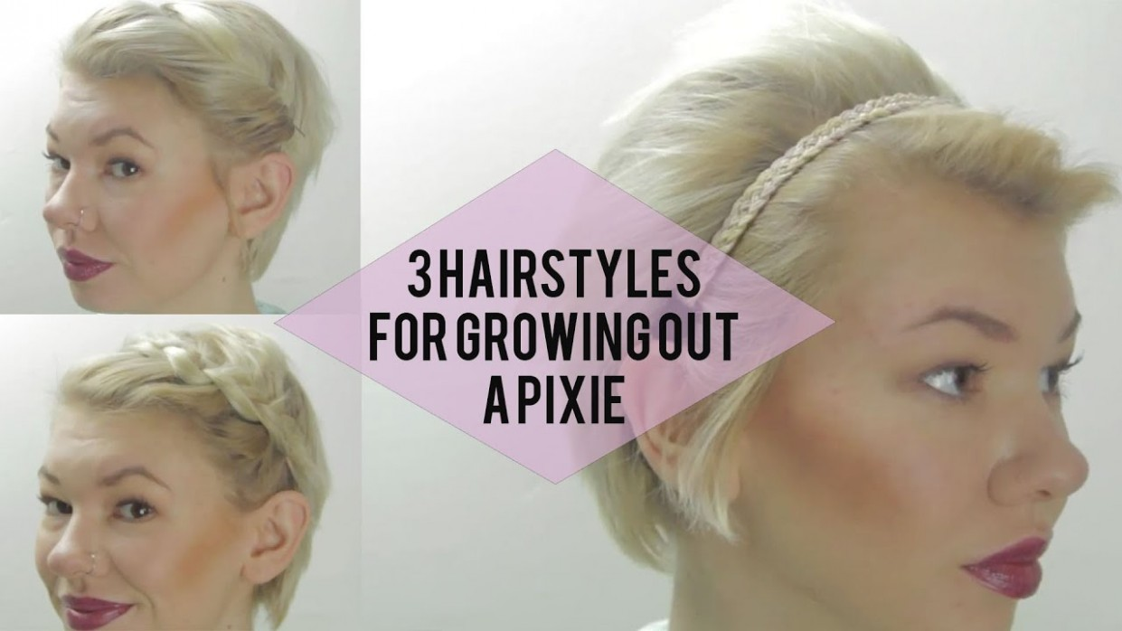 12 Cute Hairstyles For When Growing Out A Pixie Cut Transition Hairstyles For Growing Out Short Hair