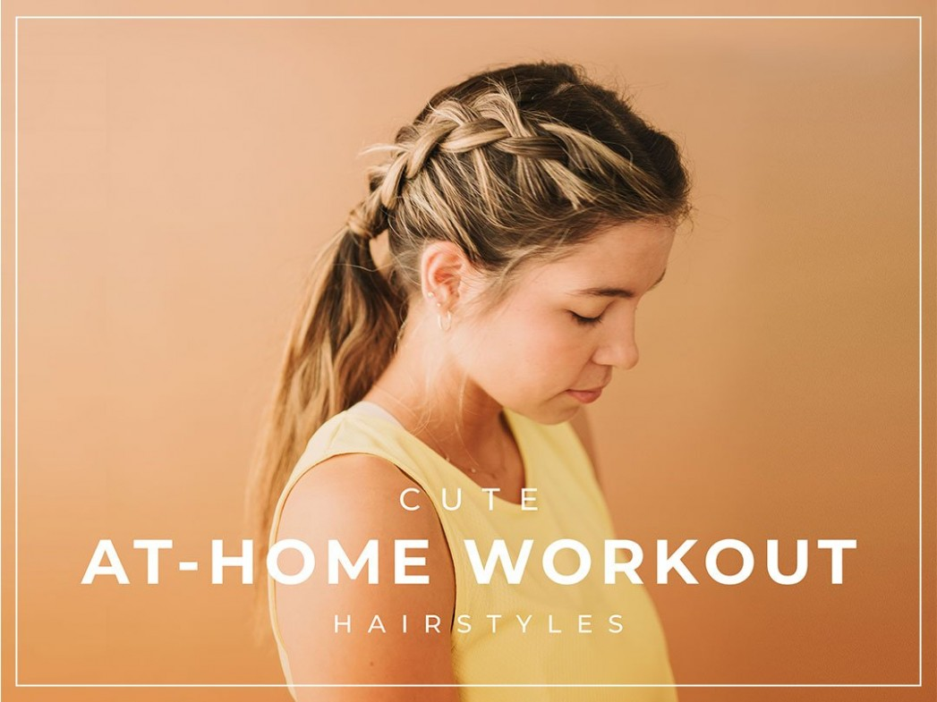 12 Cute Workout Hairstyles Albion Workout Hairstyles For Long Hair