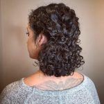 12 Easy & Cute Updos For Curly In Trending In 12 Cute Curly Updos