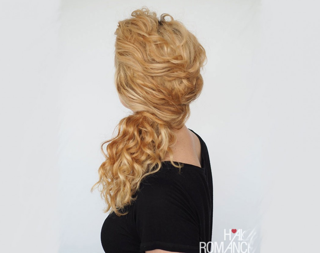 12 Easy And Cute Hairstyles For Curly Hair Southern Living Curly Hair Bun Hairstyles