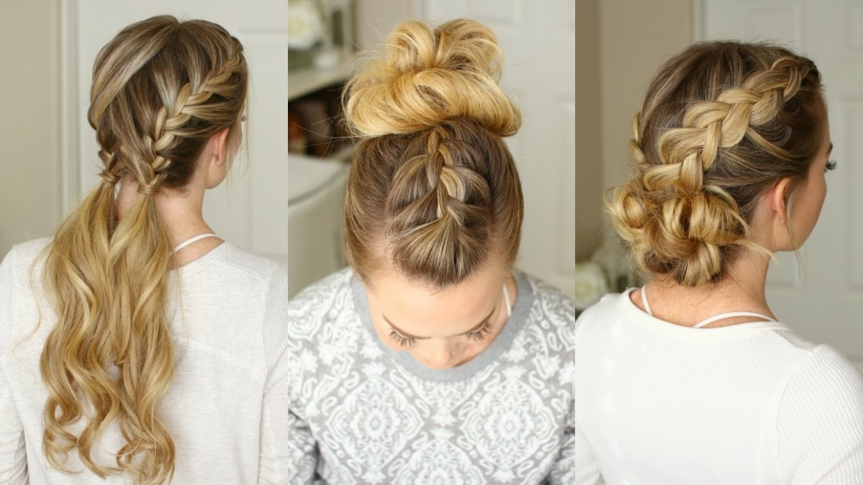 12 Easy Braided Hairstyles Missy Sue Easy Braided Hairstyles For Long Hair