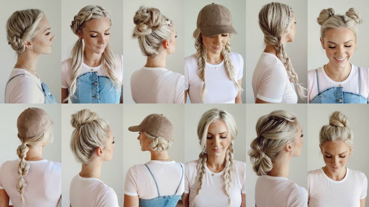 12 Easy Gym/Workout Hairstyles/Everyday Workout Hairstyles For Long Hair