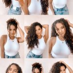 12 Easy Hairstyles For Curly Hair The Haute Report Cute Easy Hairstyles For Curly Hair