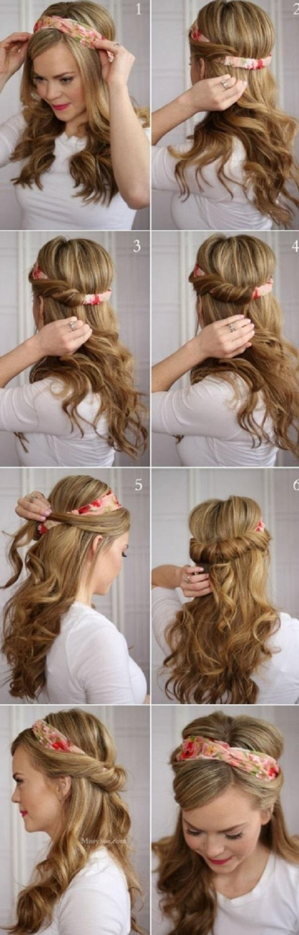 12 Easy Hairstyles For Long Hair Cuded Easy Hairstyles For Girls Long Hair