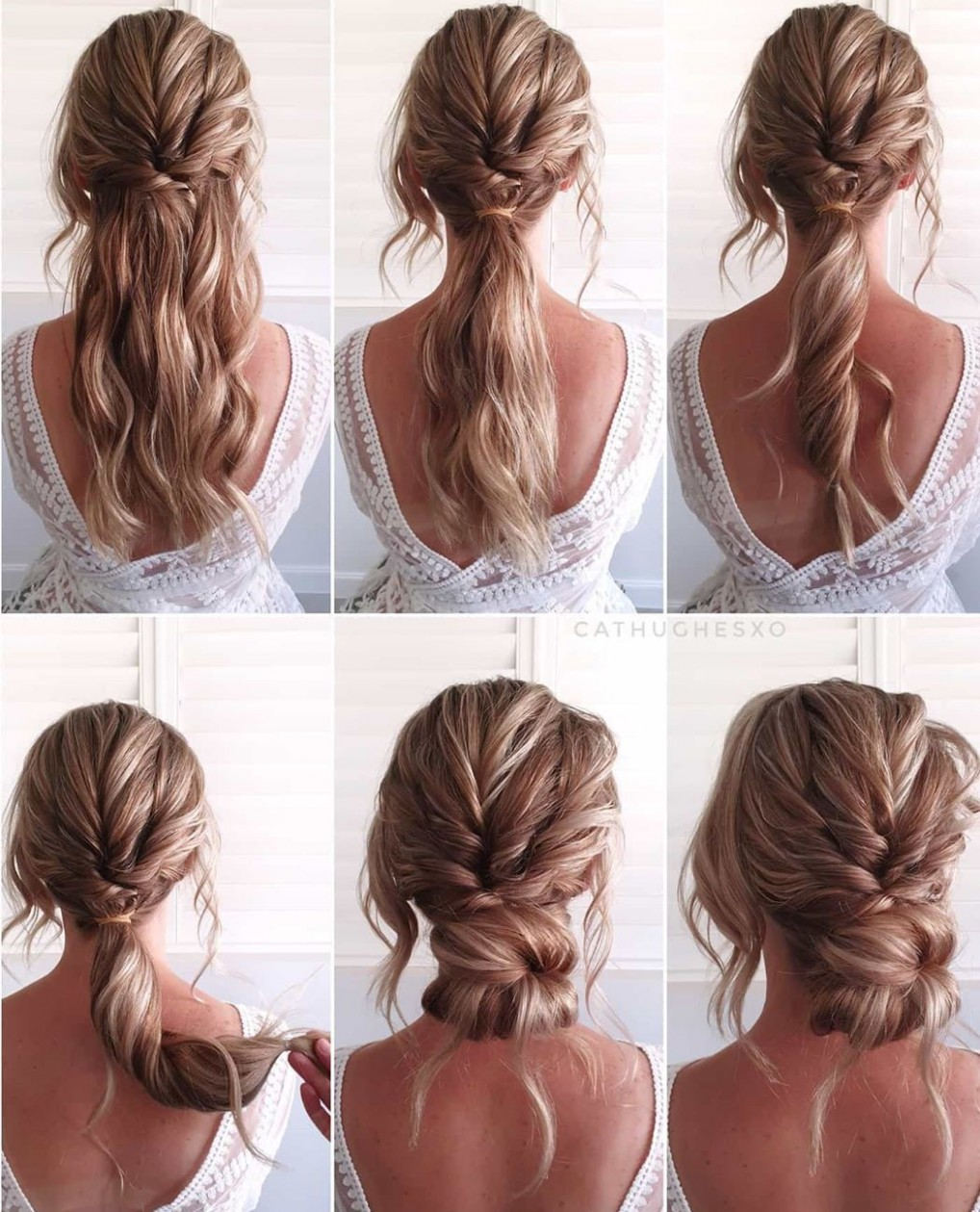 12 Easy Hairstyles For Long Hair With Simple Instructions Hair Easy Hairstyles For Long Curly Hair