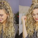 12 Easy Holiday Hairstyles For Curly Hair Easy Hairstyles For Curly Hair To Do At Home