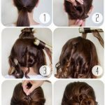 12 Easy Step By Step Hair Tutorials For Long, Medium,Short Hair Messy Bun For Short Hair Step By Step
