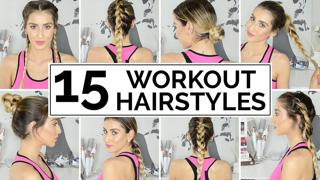 12 Easy Workout Hairstyles Workout Hairstyles For Long Hair