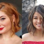 12 Flattering Short Hairstyles For Round Faces StylesRant Face Slimming Haircuts