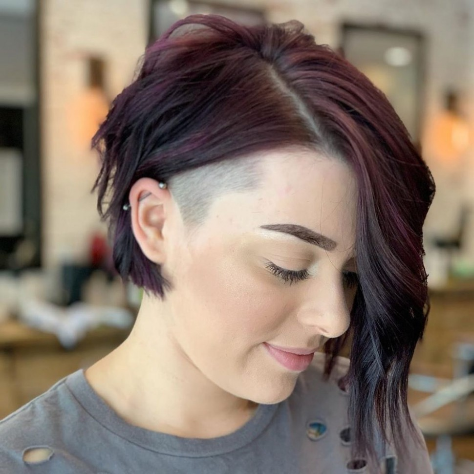 12 Flattering Undercut Bob Haircuts To Consider This Year Shaved Side Bob Black Hairstyles